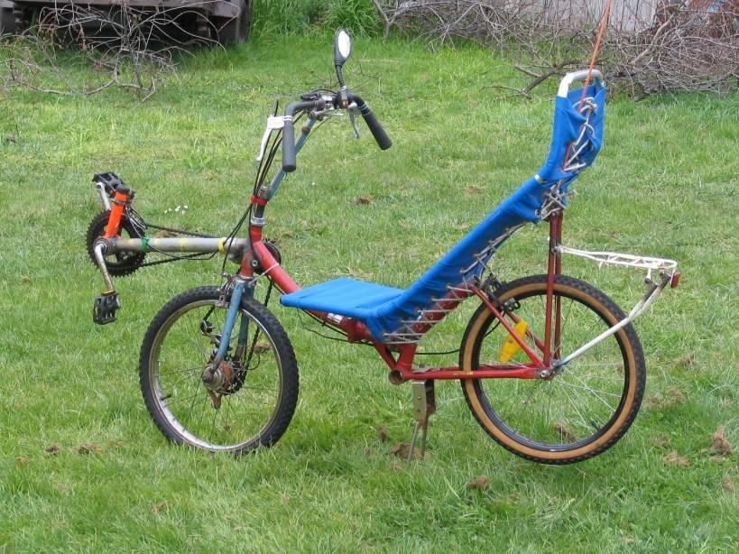 Folding Recumbent Bike