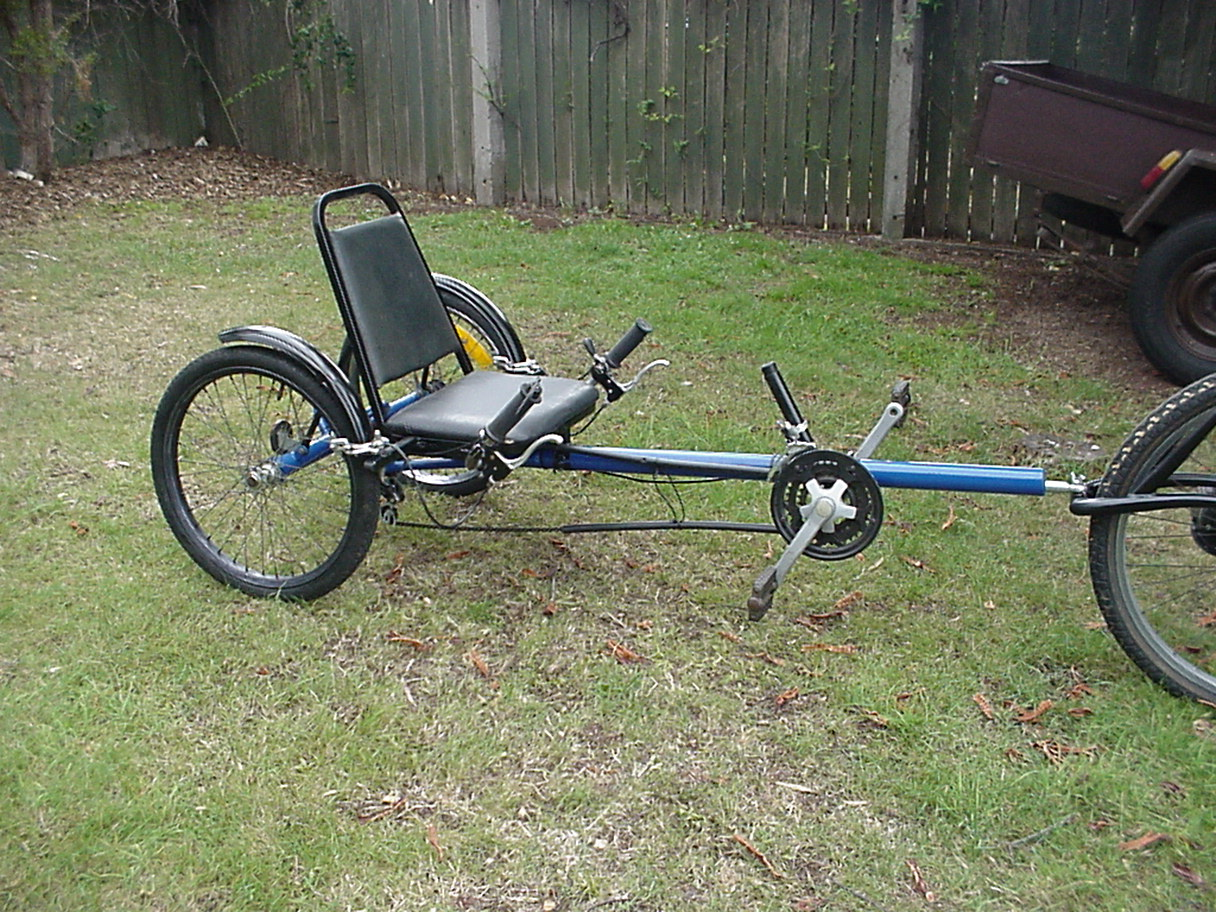Recumbent Bike Trailer The Trike Shop Wiring Diagram A Rod End Quite Lot Larger 1 2 Than Used On Steering Arm Is For Tow Ball Joint And Appears To Work Ok