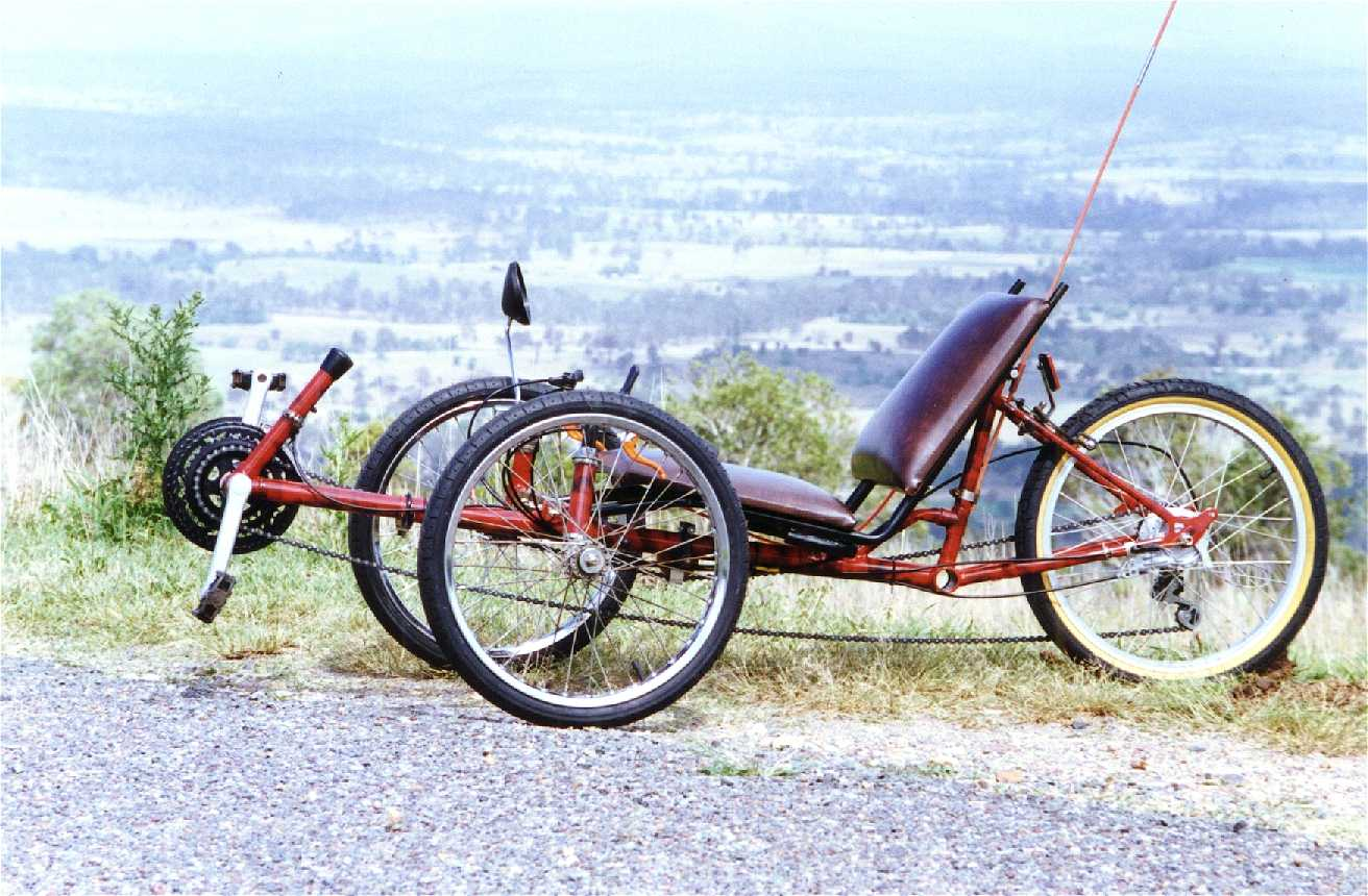 How to build a Short Wheel Base Recumbent Trike