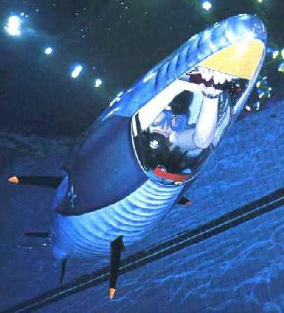 a human powered submarine