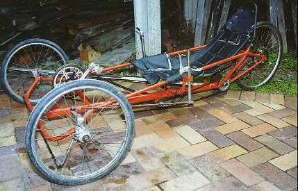 Side View Of Trike